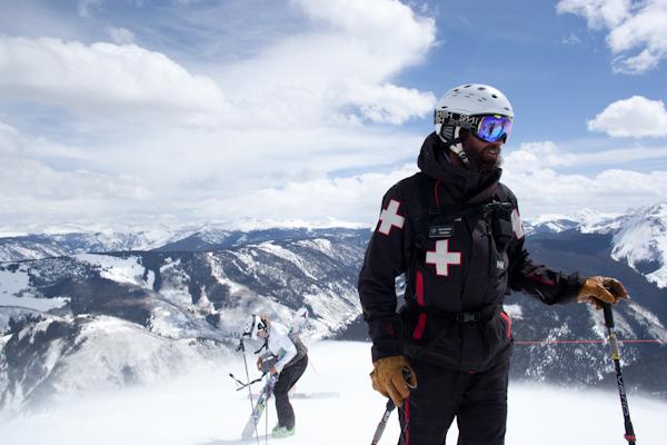 Ski Patrolling like a boss