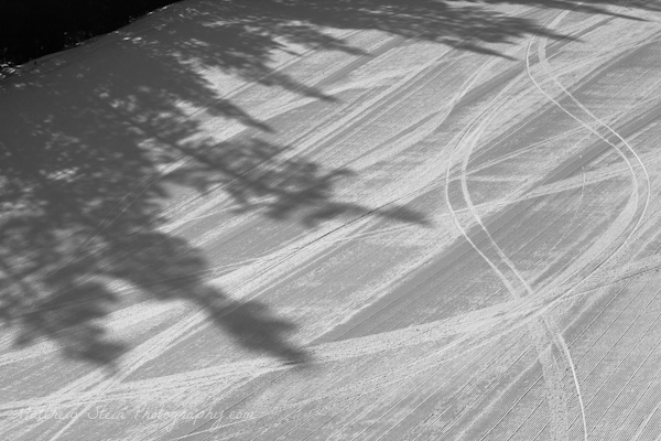 First tracks and shadows on Ajax.