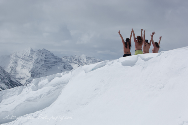 topless women make the hike worthwhile