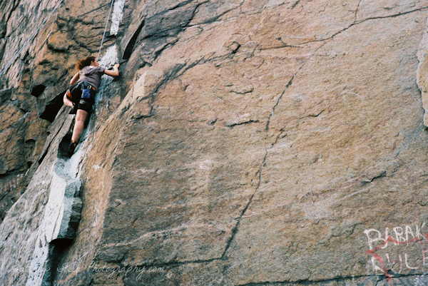 Rock Climbing adventure photography