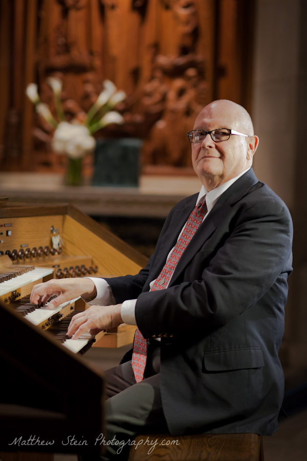 Headshots for Organists Timothy Zimmerman